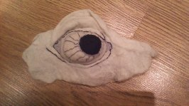 stiffened felt eye